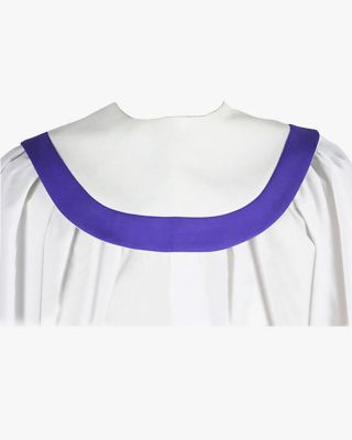 Custom Rounded Front Choir Stole with Border