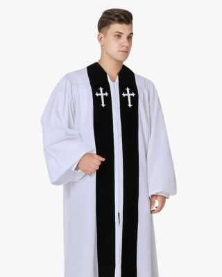 Custom Velvet Geneva Clergy Robe