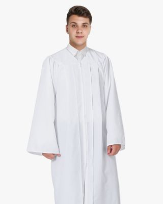 Economy Confirmation Robes - White