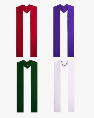 Overlay Stoles - 4 Colors Available