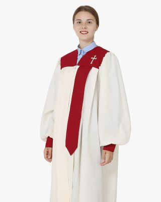 Senior Carly Choir Robes with Cuff Sleeve