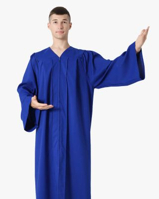 Senior Classic Choir Robes Matte Finished - 12 Colors Available