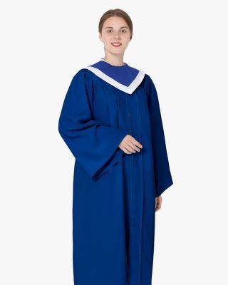 Senior Classic Choir Robes with Reversible Stoles