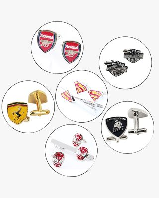 Tie Bar & Cuff Links Gift Set