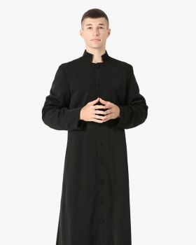Roman Clergy & Pulpit Cassock - 3 Colors Available