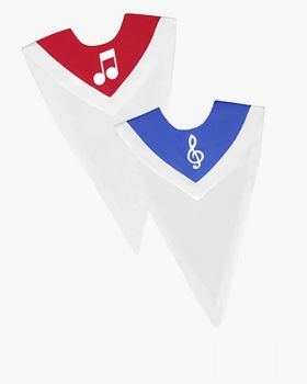 Custom Reversible Choir Stoles with Border