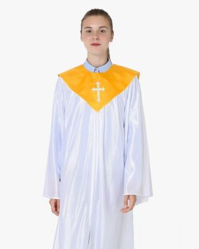 Senior Economy Choir Robe with Matching Stoles